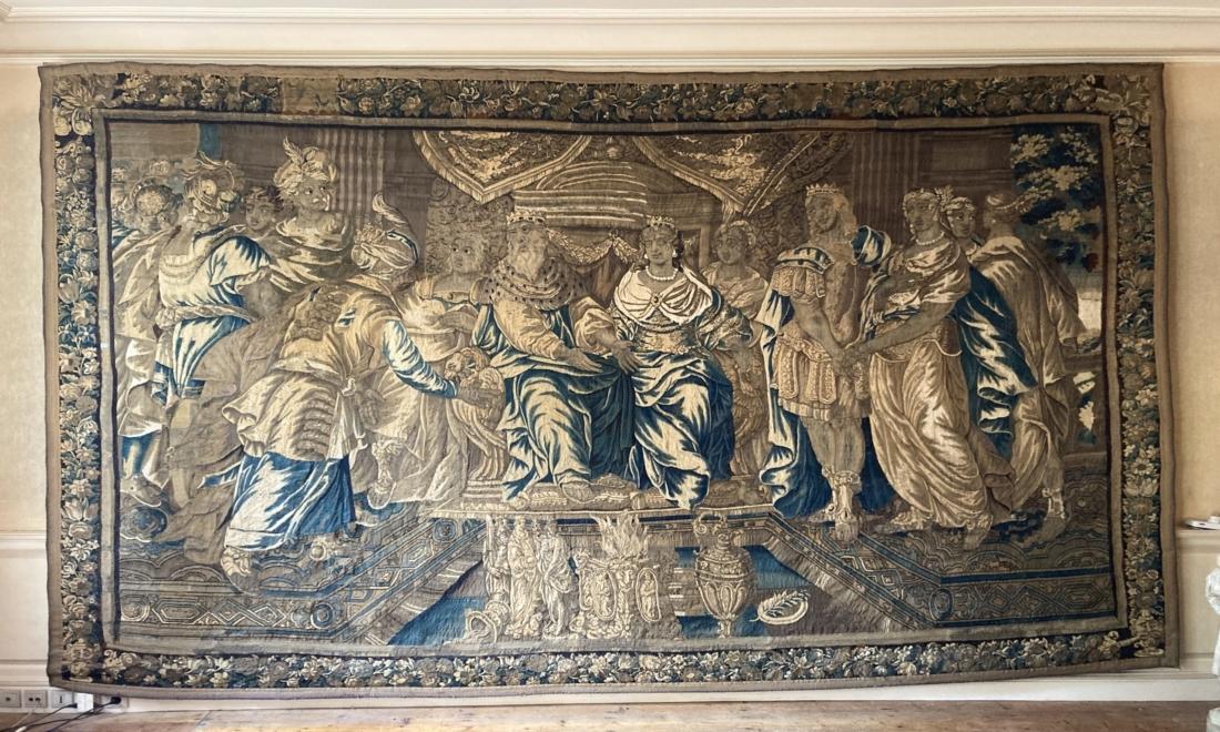 Une nouvelle tapisserie d'Isaac MOILLON pour Aubusson