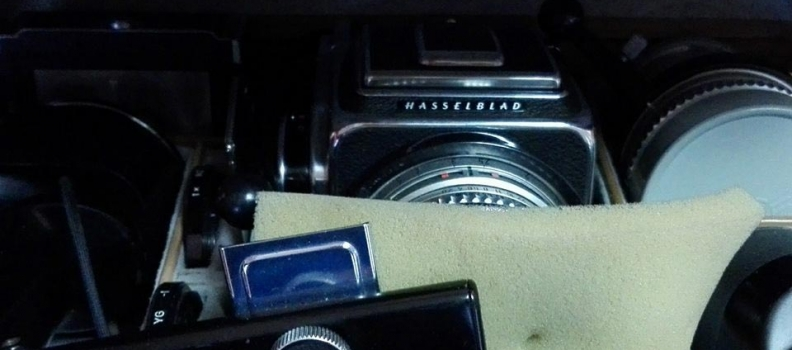 La Rolls Royce de Suède : appareil photo Hasselblad