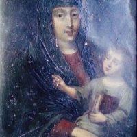 Vierge à l'Enfant française du XVIIème siècle